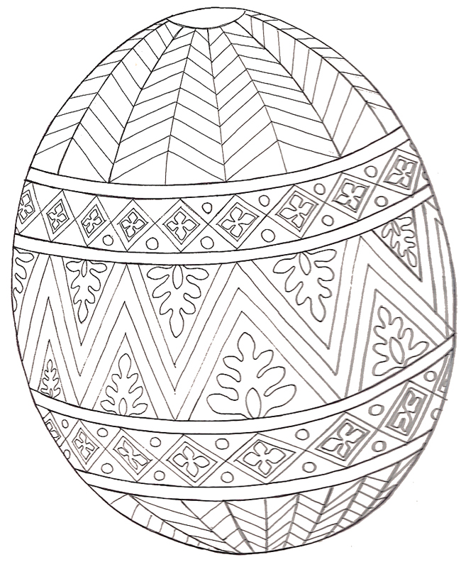 The Easter Egg Coloring Mural