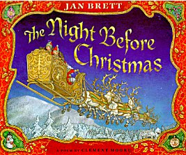 Night Before Christmas (Jan Brett)